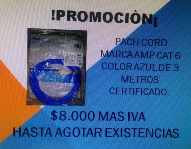 PROMOCION PACH CORD